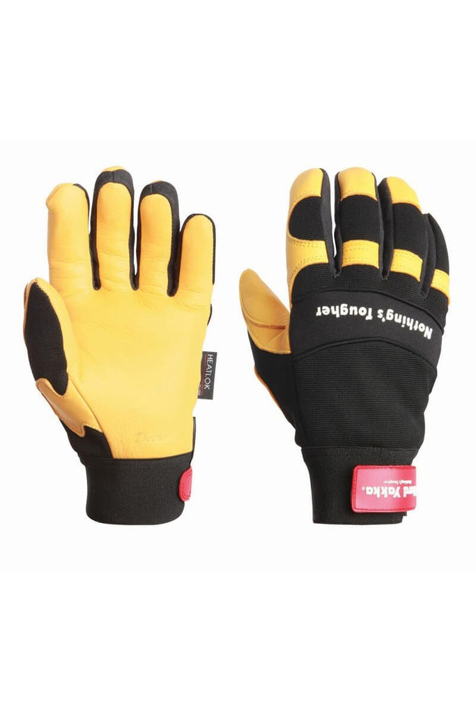 Hard Yakka Y26073 Glove G919h Golden Hawk Winterlined