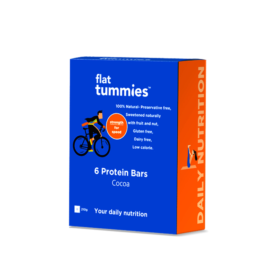 Flat Tummies Protein Bar with Cocoa