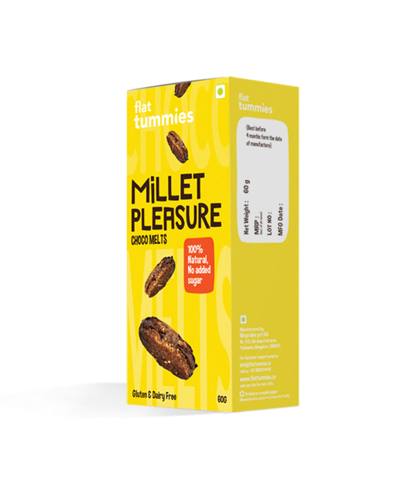 Flat Tummies Millet Pleasure | Choco Melts Cookies