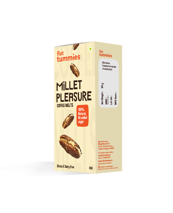 Flat Tummies Millet Pleasure | Coffee Melts cookies
