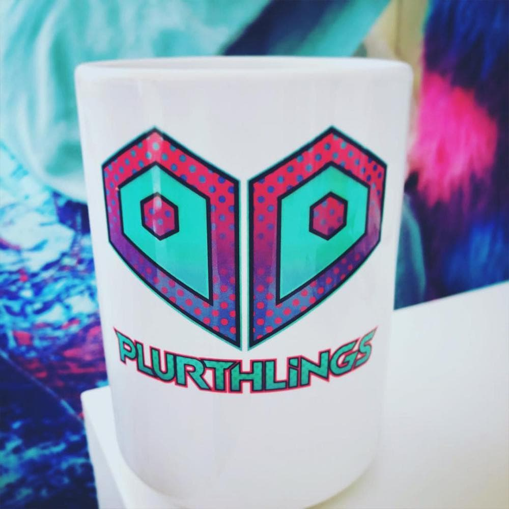 Plurthlings Casual Logo Coffee Mug