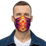 Alone in the Dark Neck Gaiter Face Mask