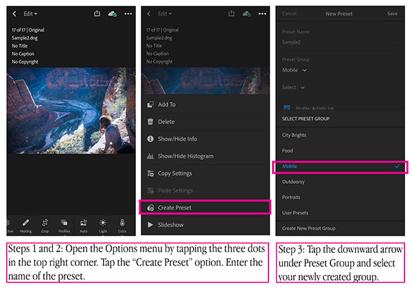 How to Install Presets in Lightroom CC Mobile - NMDigital Design
