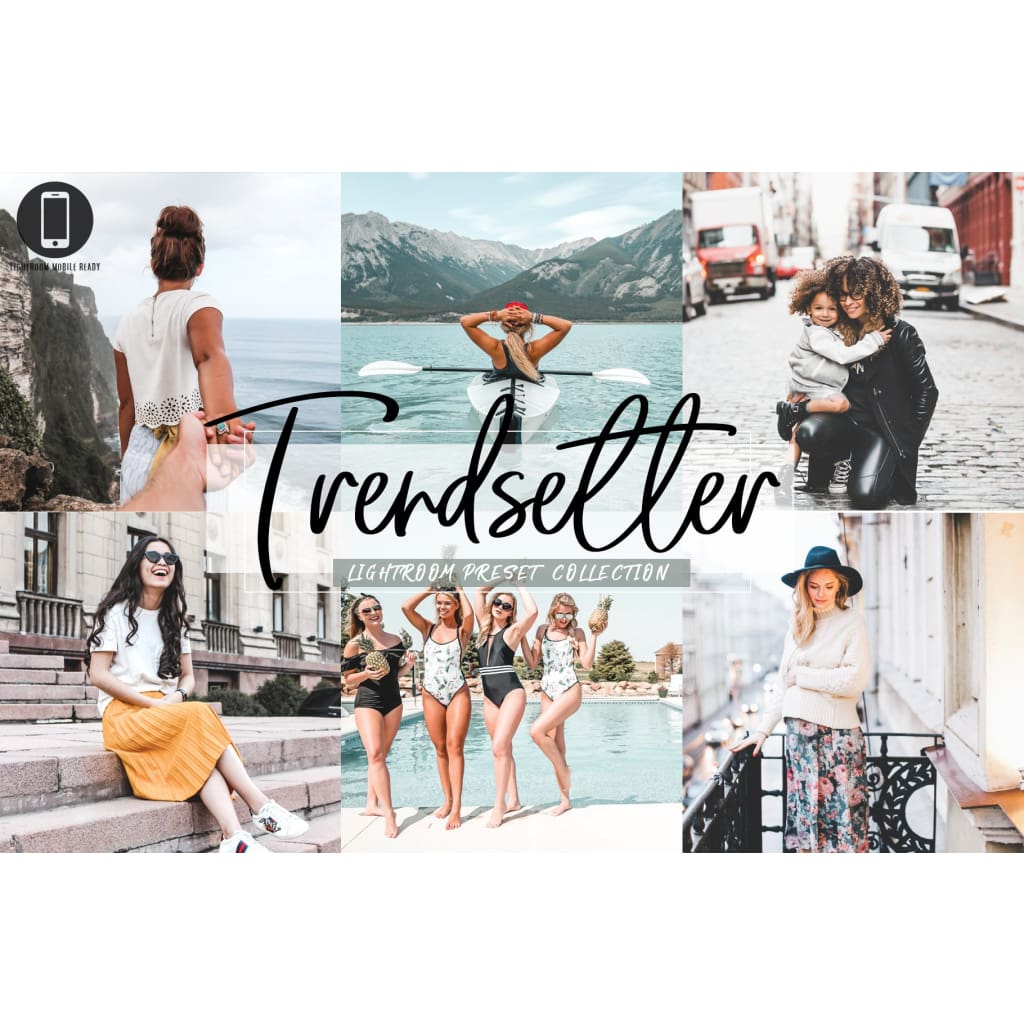 Influencer Lightroom Presets - NMDigital Design