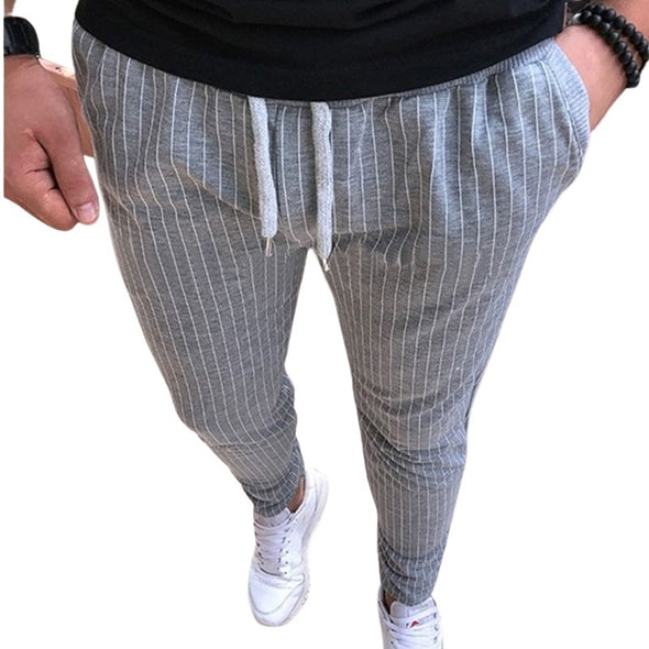 Lloyd Casual Striped Pencil Pants