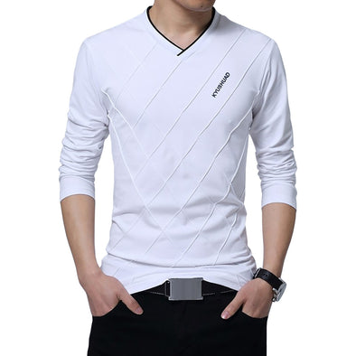 Stylish V-Neck T-Shirt