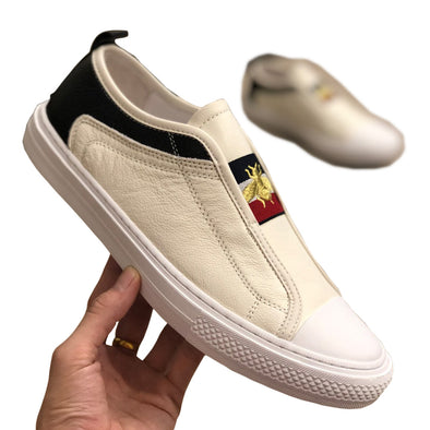 Bee Embroidered Shoes