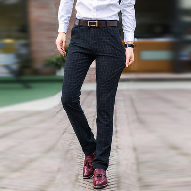 Checkered Business Pants