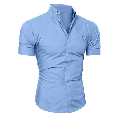 Businessman Short Sleeve Shirt