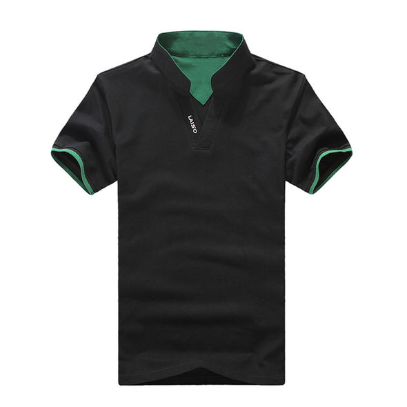 Collar V-Neck T-shirt