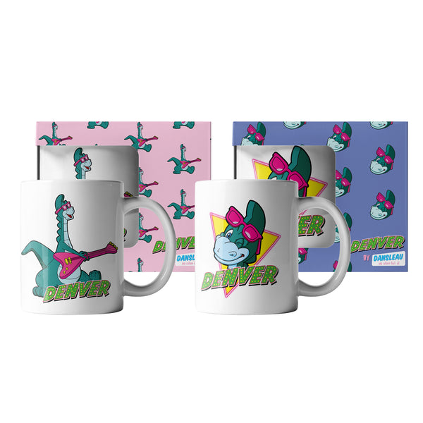 Pack de 2 mugs Denver | Clin d'oeil & Guitare