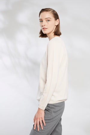 Relaxed Crew Neck Sweater