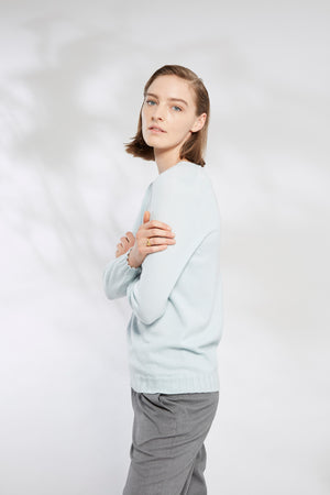 Loose Fit V-Neck Sweater