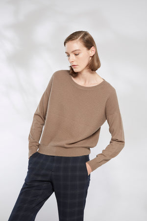 Horizontal Rib Sweater