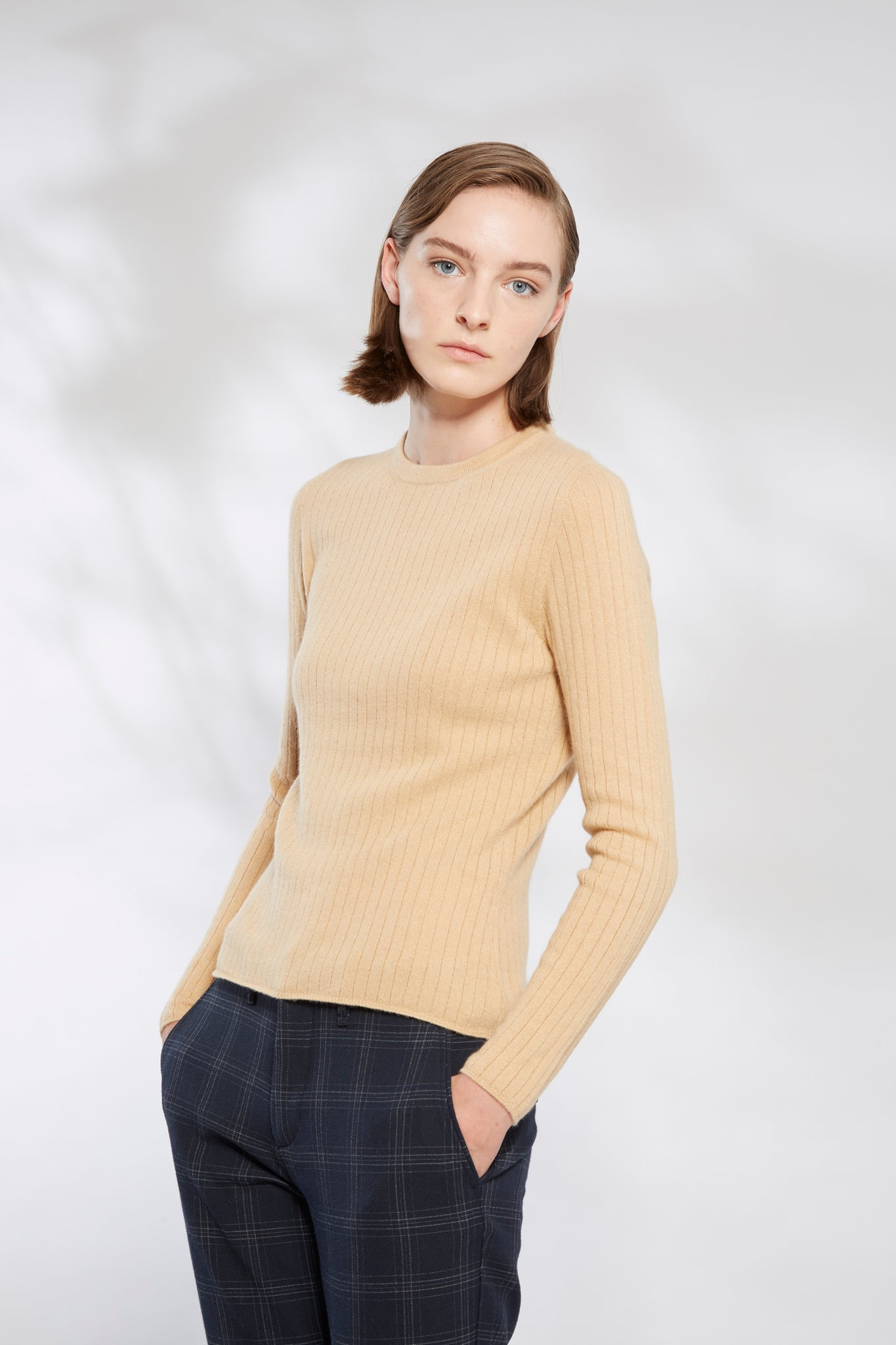Vertical Rib Knit