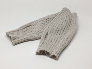 Fingerless Gloves in a Lace Stitch