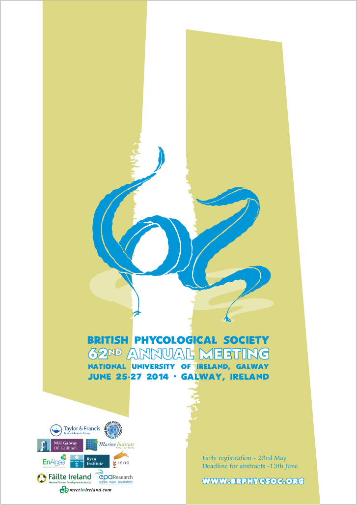 Event poster - British Phycological Society's 62nd Annual Meeting