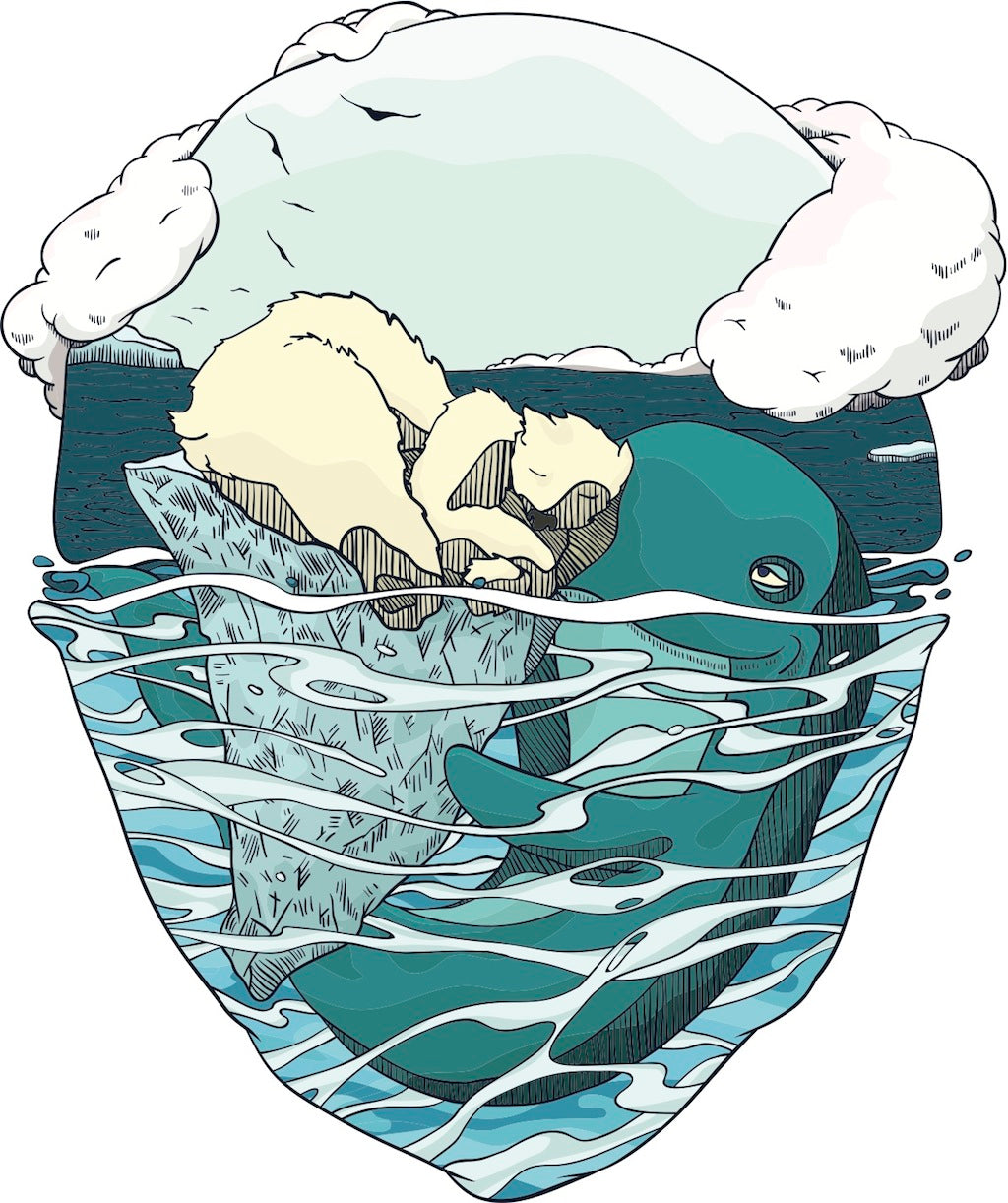 Bear and whale