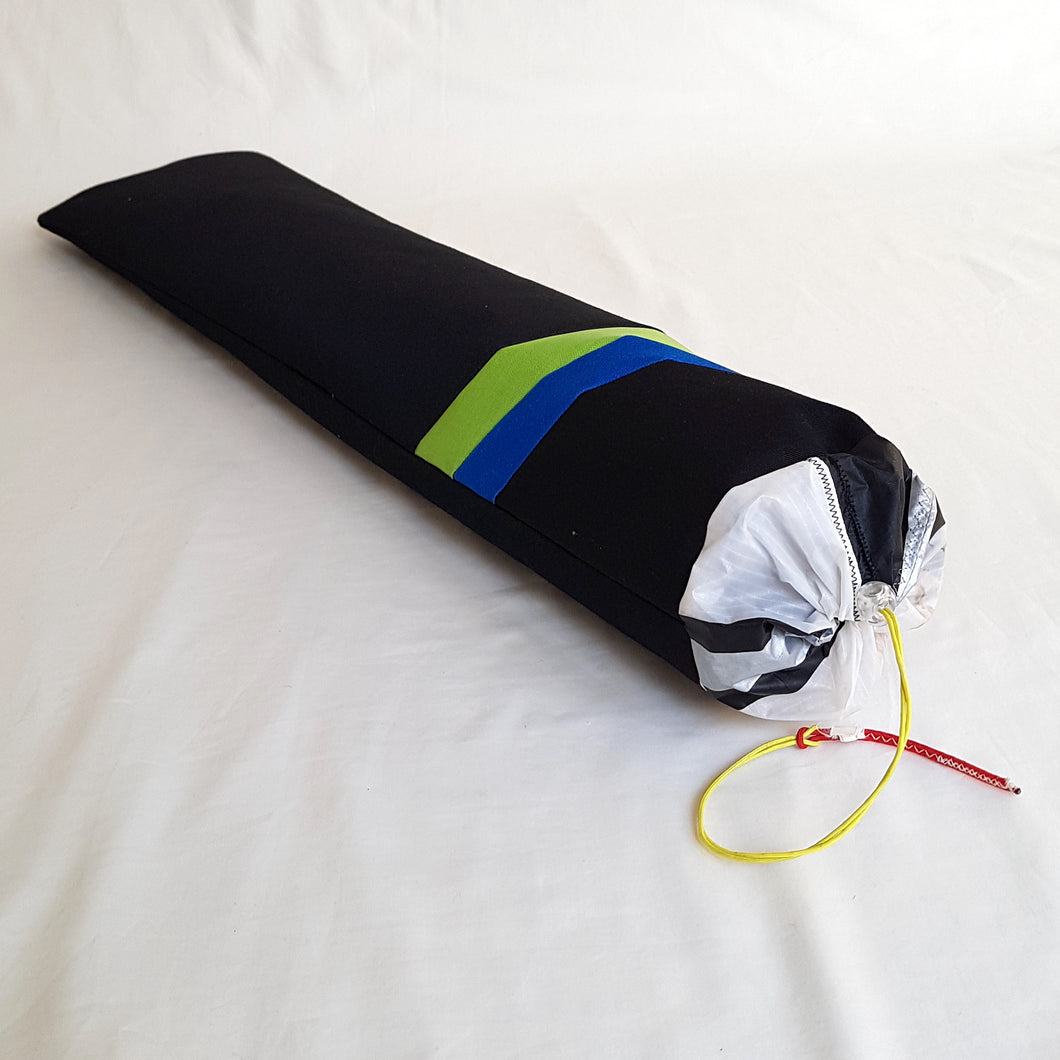 Organic Devolution Surf Mat Travel Bag Handmade Angle View Front Version 8