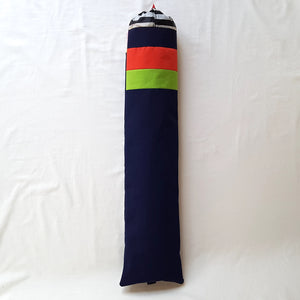 Organic Devolution Surf Mat Travel Bag Handmade Front View Version 7