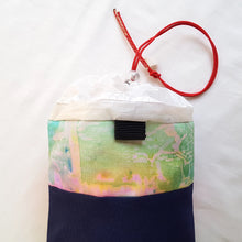 Load image into Gallery viewer, Organic Devolution Surf Mat Travel Bag Handmade Back Top View Version 6