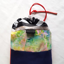 Load image into Gallery viewer, Organic Devolution Surf Mat Travel Bag Handmade Back Top View Version 7