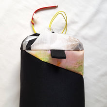 Load image into Gallery viewer, Organic Devolution Surf Mat Travel Bag Handmade Back Top View Version 8