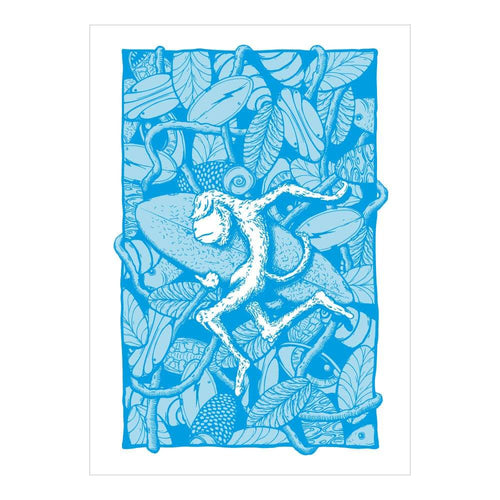 Organic Devolution Sumatra Miasma note card front