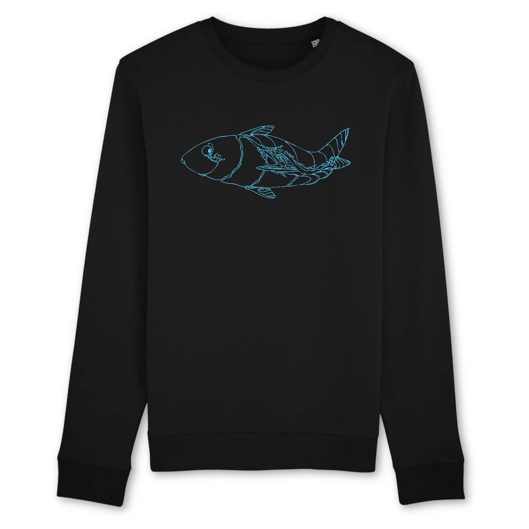 Gettin Fishy Unisex Long Sleeve Sweatshirt