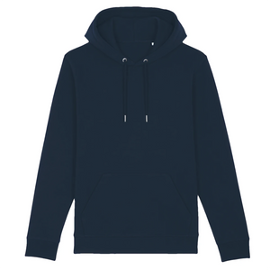 navy organic cotton relaxed fit hooded sweatshirt hoodie jellyfish cassette