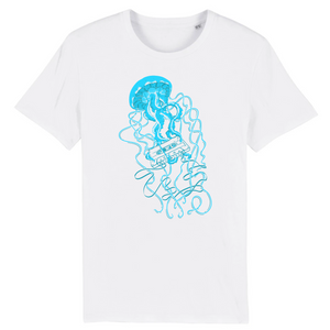 Jellyfish Cassette Short Sleeve T-Shirt