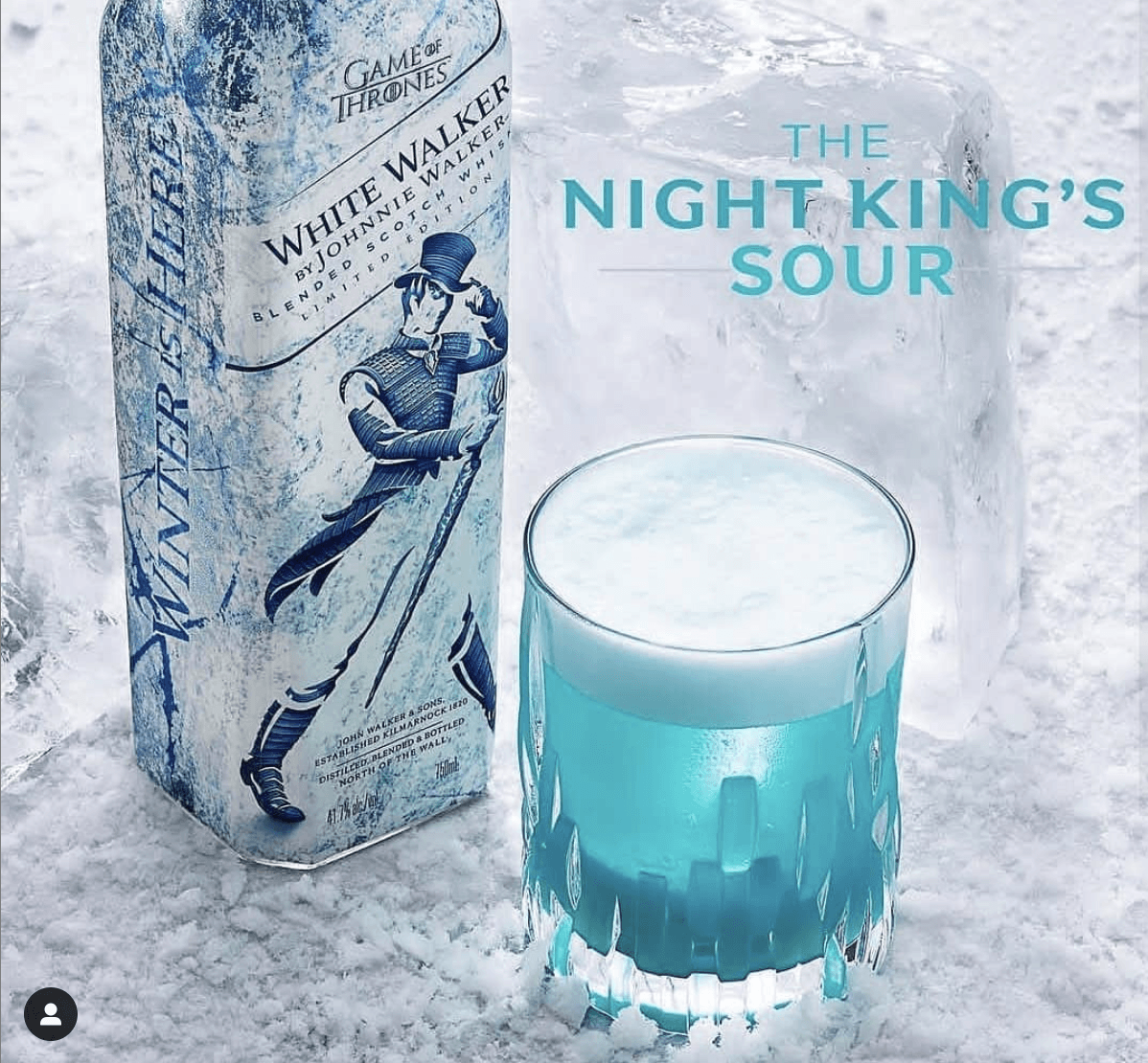 Games of Thrones - Johnnie Walker, White Walker