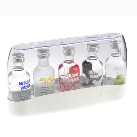 Absolut Fives Flavoured Vodka Miniature Gift Set