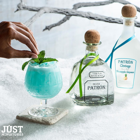 Baby Blue Margarita Silver Patron Tequila