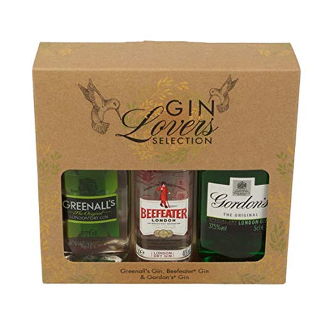 Gin Selection Miniature Trio Gift