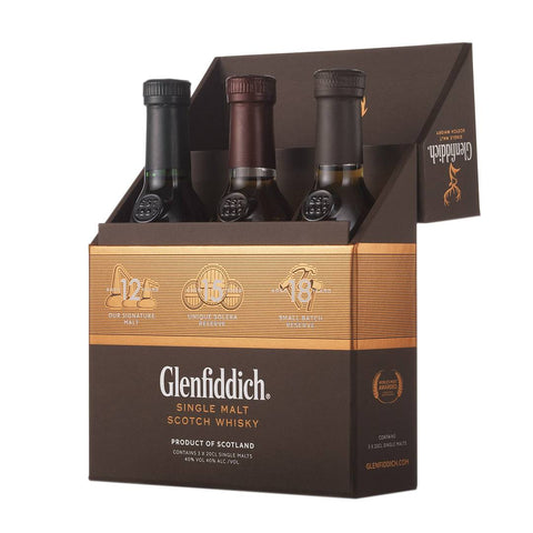 Glenfiddich Single Malt Scotch Whisky Gift Set