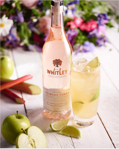 JJ Whitley Vodka Rhubarb And Ginger Fizz