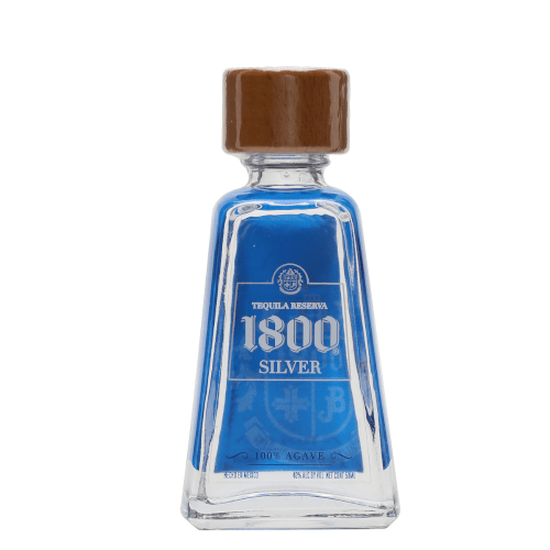 1800 Silver Tequila Miniature