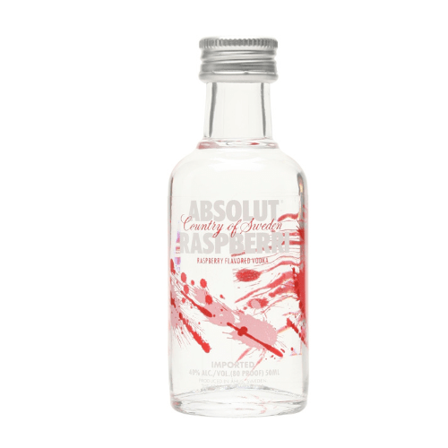 Absolut Raspberri Vodka Miniature - 5cl