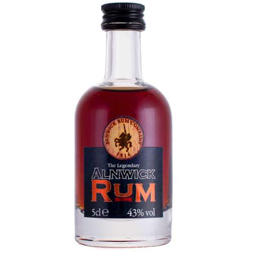Alnwick Dark Rum Miniature - 5cl