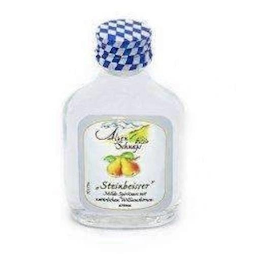 AlpenSchnaps Steinbeisser Williams Pear Liqueur Miniature - 2cl