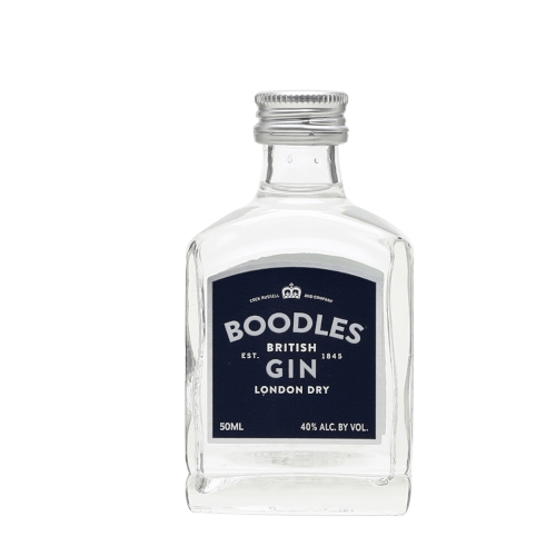 Boodles British London Dry Gin Miniature - 5cl