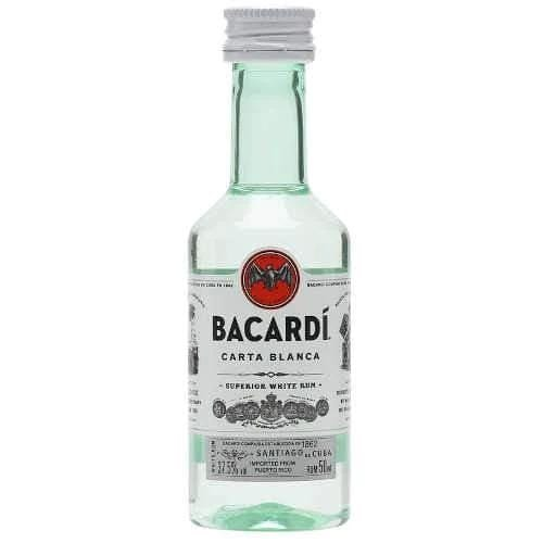 Just Miniatures-Bacardi Superior Rum Miniature