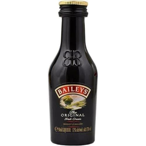 Baileys Original Irish Whiskey Cream Liqueur Miniature 5cl