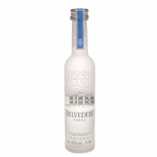 Belvedere Pure Polish Plain Vodka Miniature - 5cl