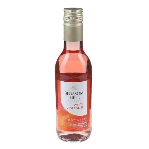 Blossom Hill White Zinfandel Rose Wine Miniature - 18.75cl