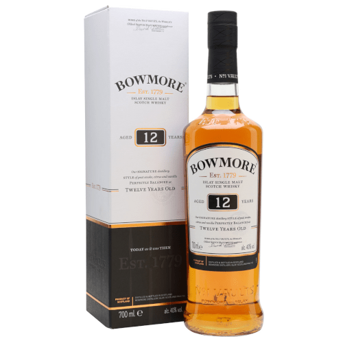Bowmore 12 Year Old Islay Single Malt Scotch Whisky- 70cl