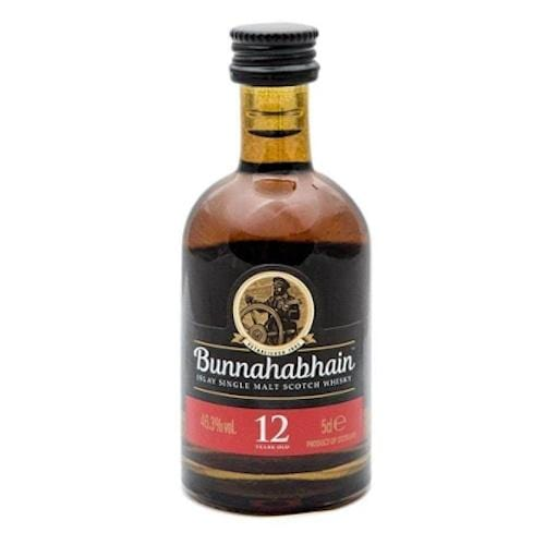 Bunnahabhain 12 yr Single Malt Scotch Whisky Miniature - 5cl