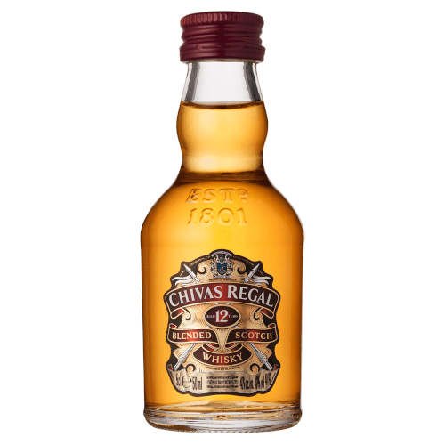 Chivas Regal 12 yr Blended Scotch Whisky Miniature - 5cl