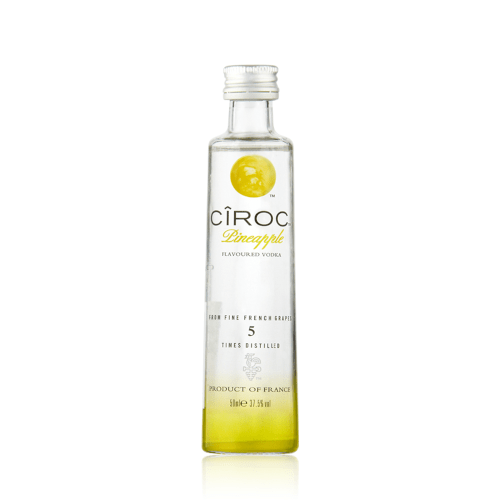 Ciroc Pineapple Flavoured Vodka Miniature - 5cl